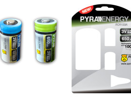 PYRA ENERGY batteries – product design