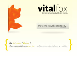 VitalFox.com – design, corporate identity
